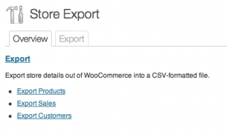 Store Exporter is very simple to use.