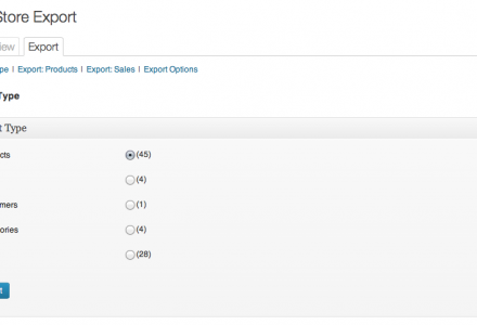 Store Exporter supports more than just Products. if it's in your store it can be exported!